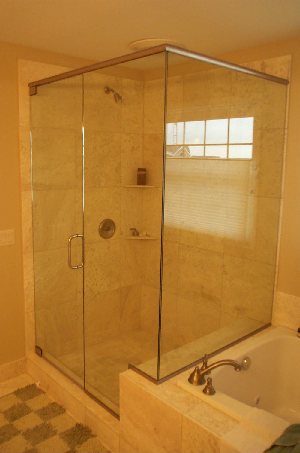Framed Glass Showers A Amp D Glass Amp Mirror